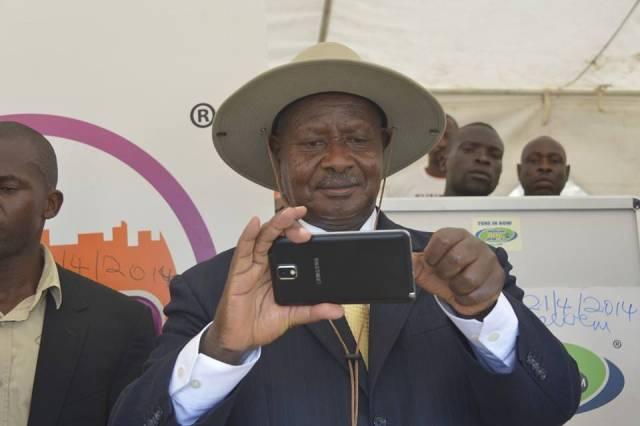 Uganda's Yoweri Museveni