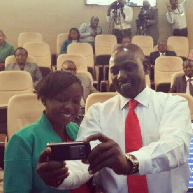 William Ruto was also joined by Jackie Maribe