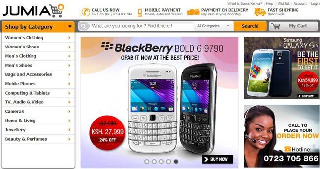 Online store in Kenya
