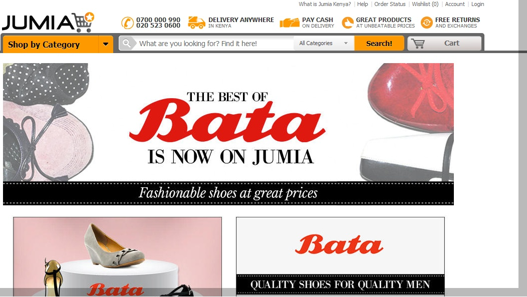 Jumia Online Shopping Shoes