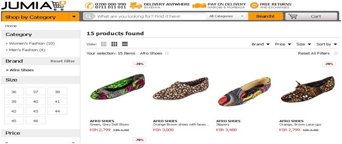 Afro Shoes