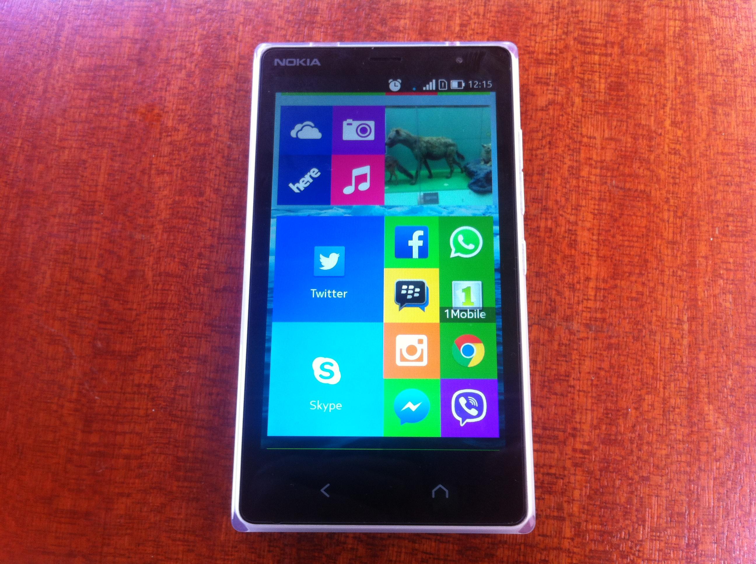 Nokia X2 in Kenya