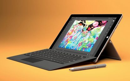 Microsoft to Stop Producing the Surface 3 Tablet Later This Year