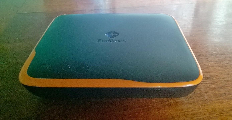 The Startimes light SD decoder