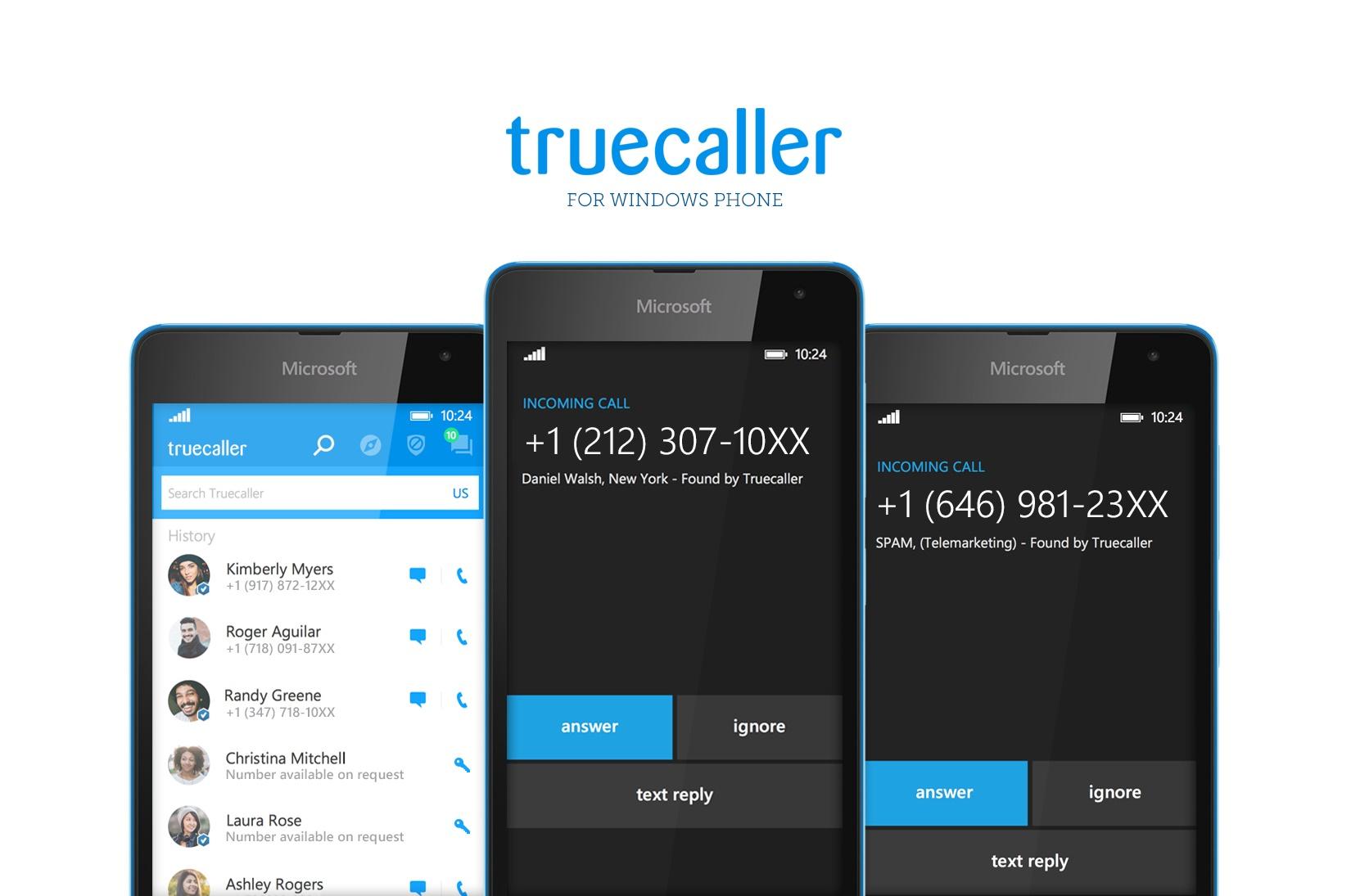 Truecaller for windows phone
