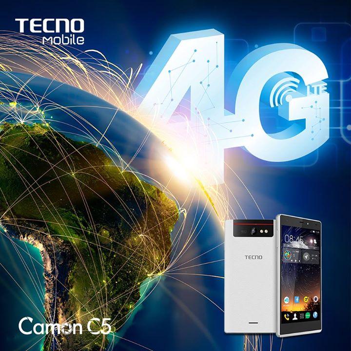 Tecno 4G smartphone