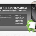 HTC Android marshmallow