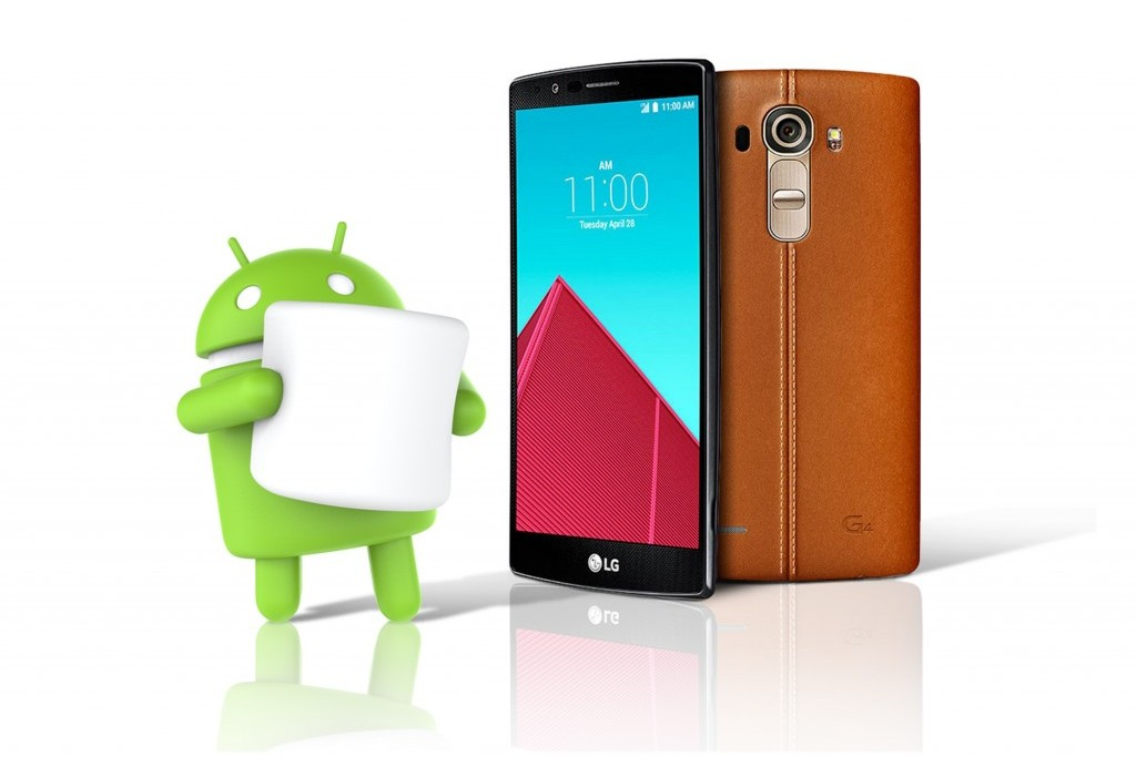 LG G4 Marshmallow update