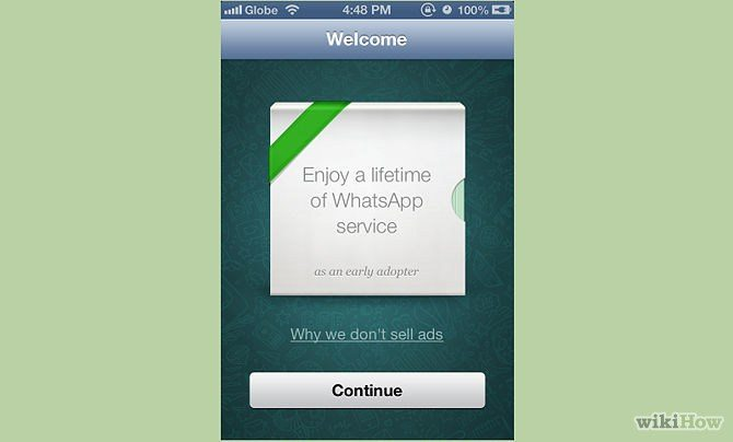 WhatsApp is free
