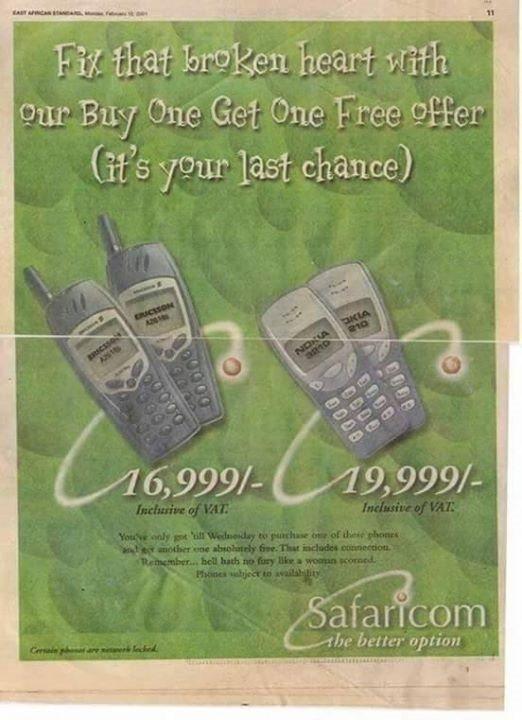 Safaricom Nokia 3210