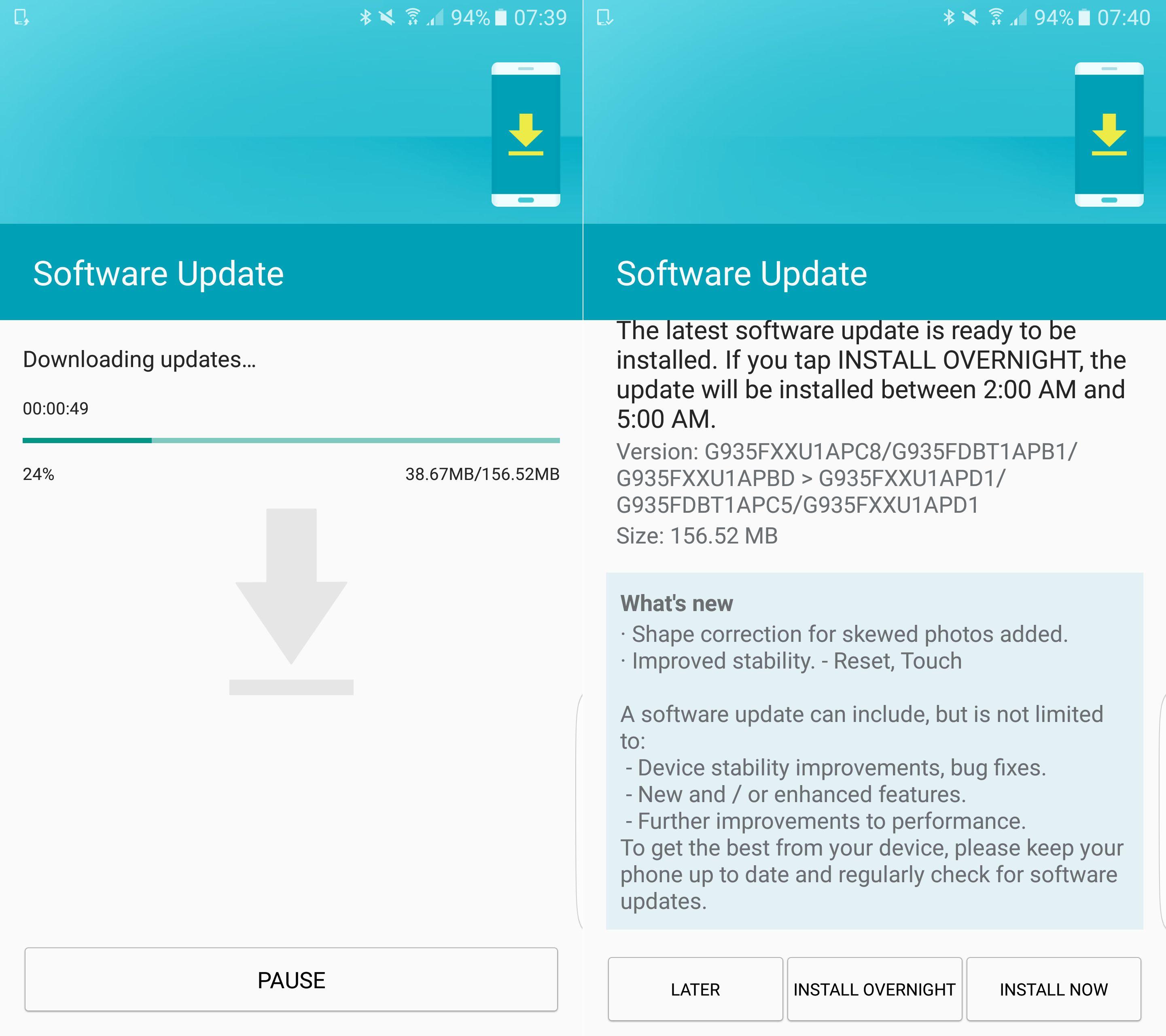 Samsung Galaxy S7 & S7 Edge Get A Crucial Firmware Update