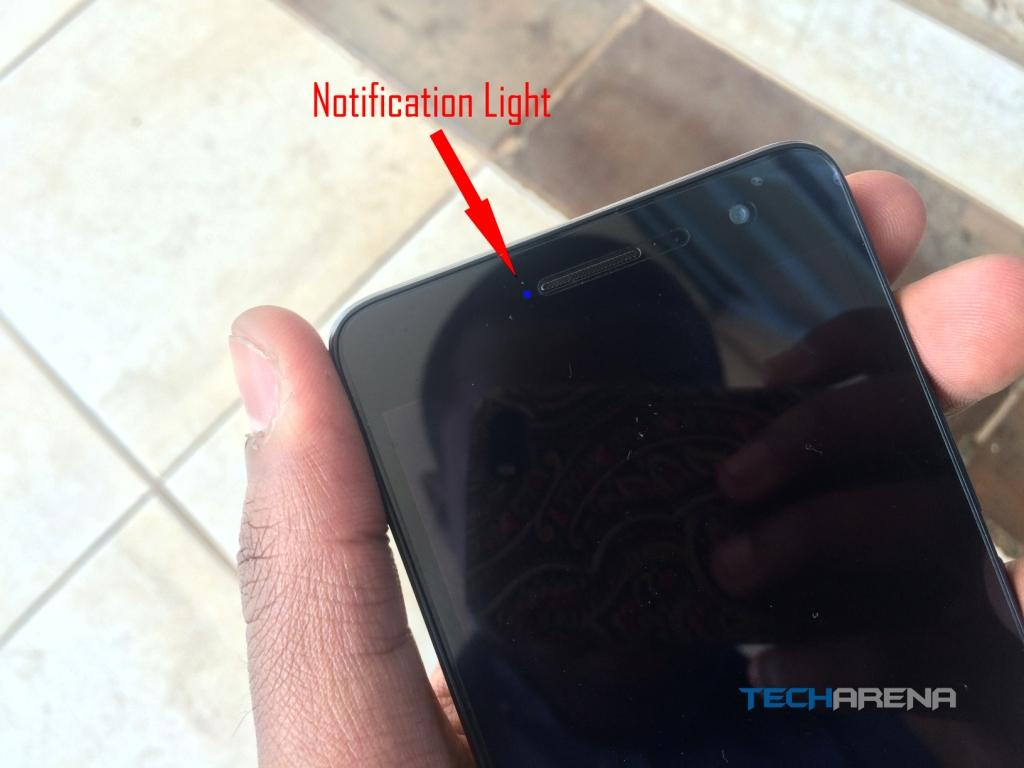 Tecno W4 Notification LED