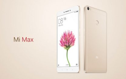 1.5 Million Xiaomi Mi Max Units Have Been Sold Since May This Year