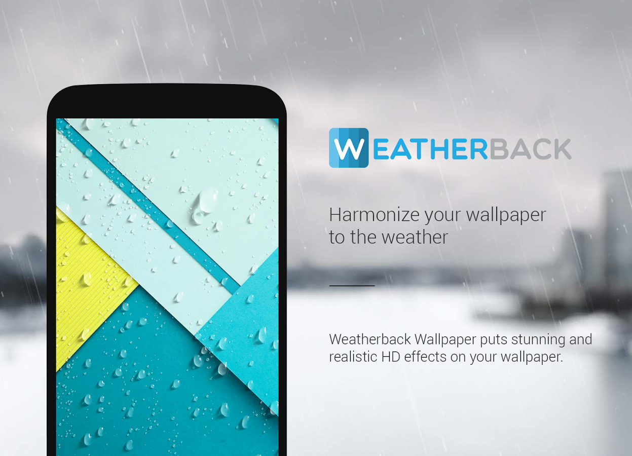 APP OF THE WEEK Accuweather Background FX