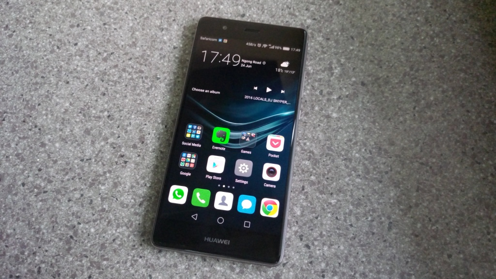 Huawei P9 display