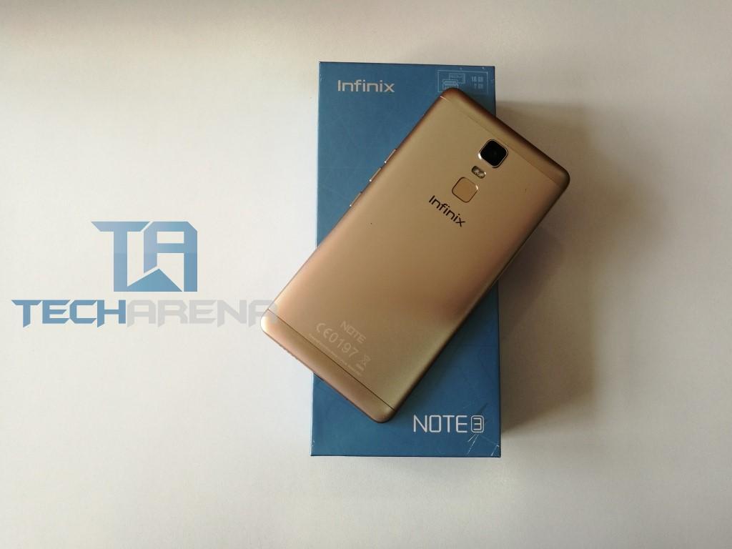 Infinix Note 3 in Kenya