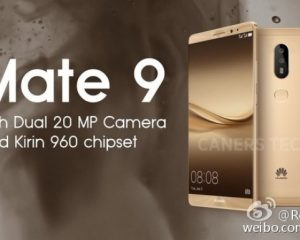 Huawei is Set to Launch the Mate 9 on November 3rd