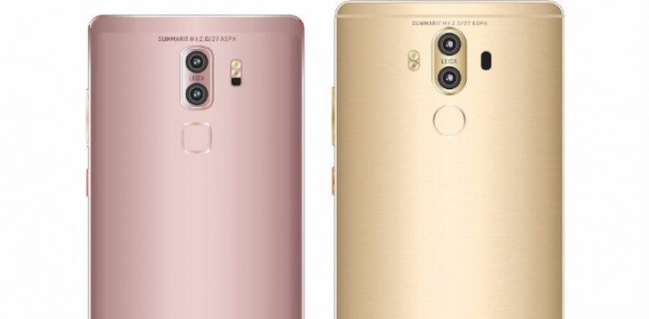 New Leak Suggests That the Huawei Mate 9 Will Come in Two Different