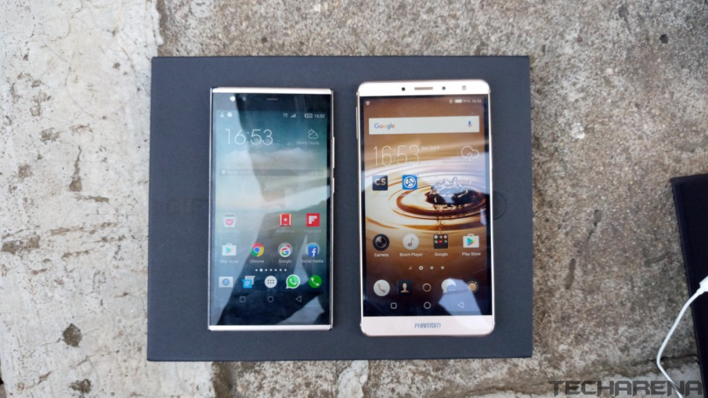 tecno phantom 6 vs phantom 5