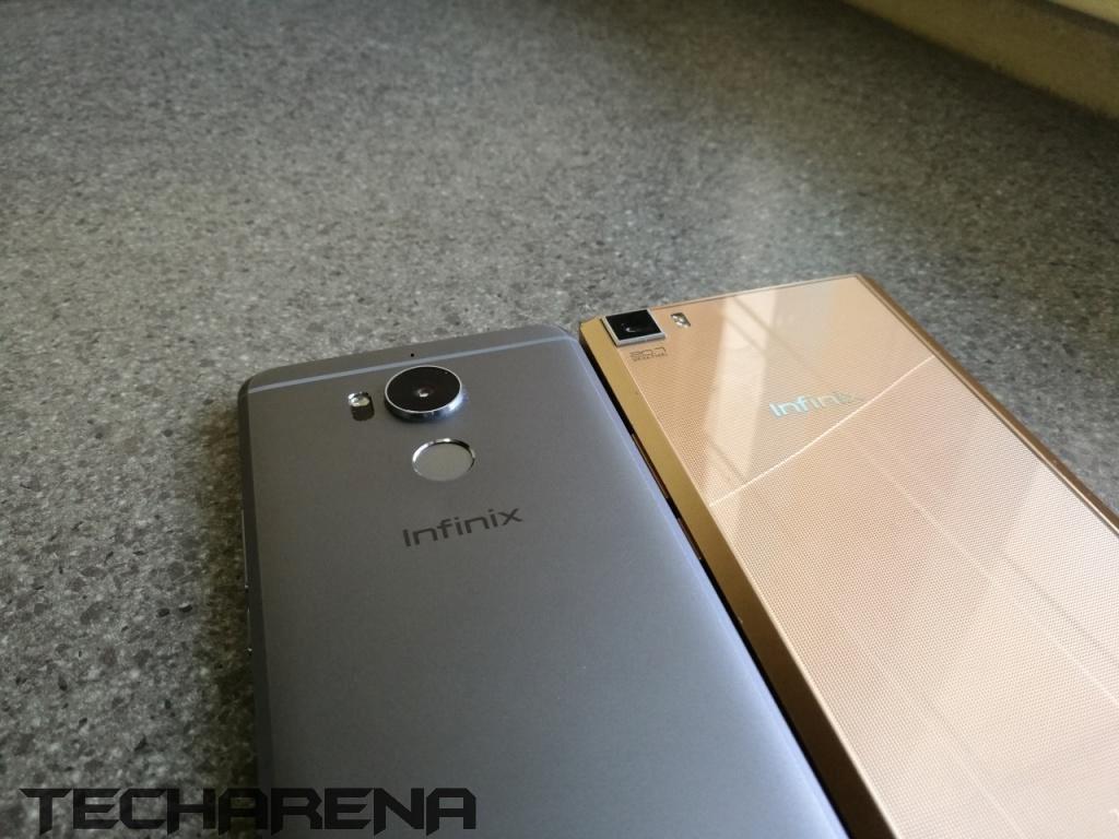 Infinix Zero 4 (left), Infinix zero 3 (right)