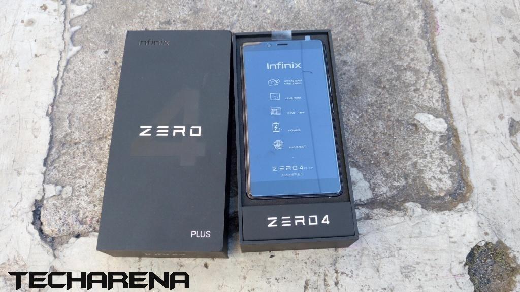 Infinix Zero 4 Plus package