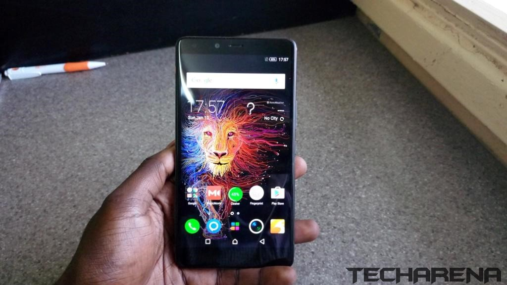 Infinix zero 4 plus display