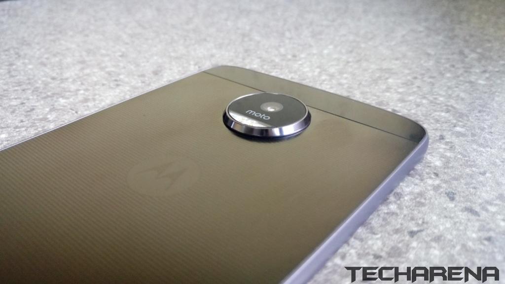 Moto Z back camera