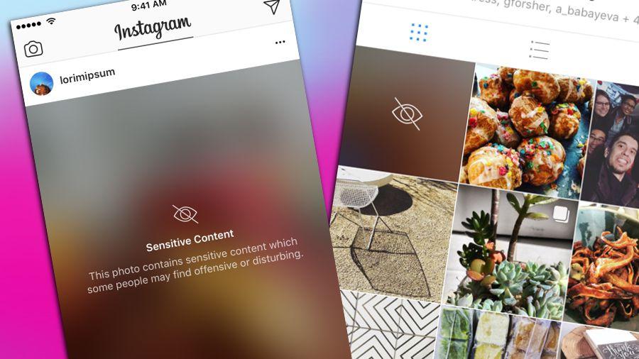 instagram blurring