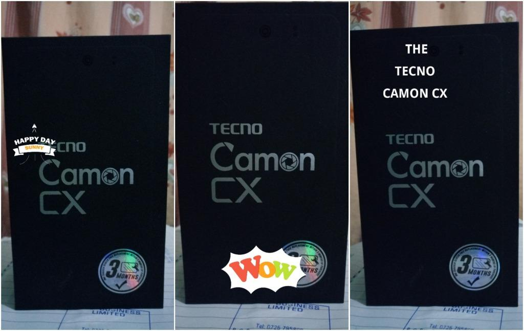Tecno Camon CX watermark