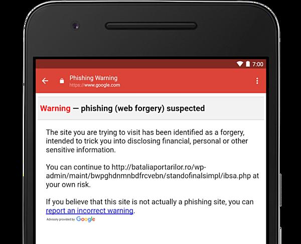 gmail anti phishing