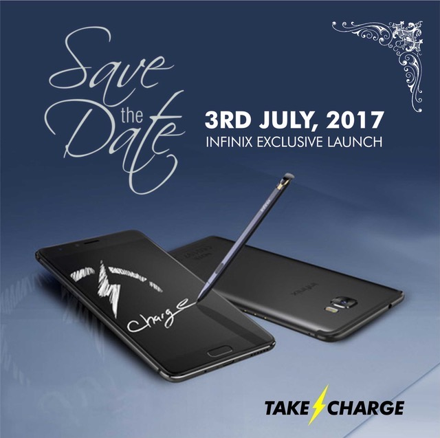 Infinix Note 4 Save-the-date