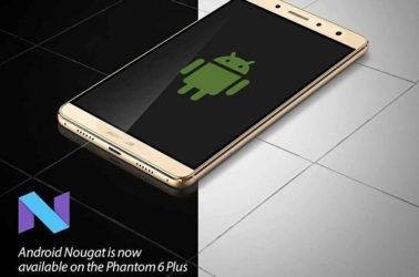 Android 7 Nougat Tecno Phantom 6 Plus