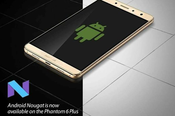 Android 7 Nougat Tecno Phantom 6 Plus