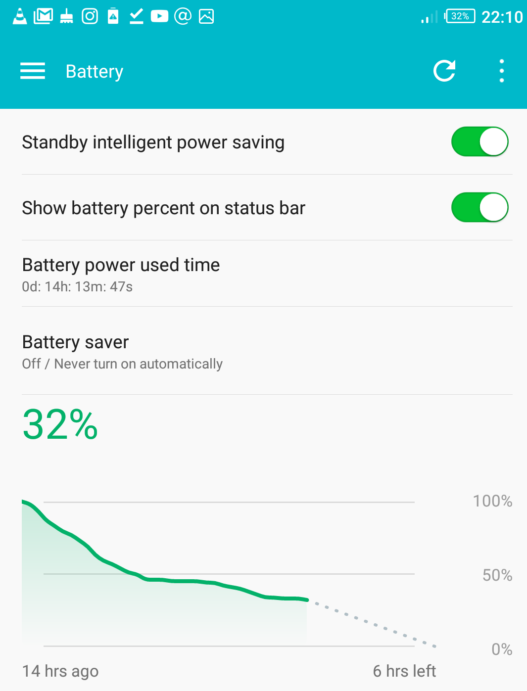 Infinix Note 4 battery 10pm