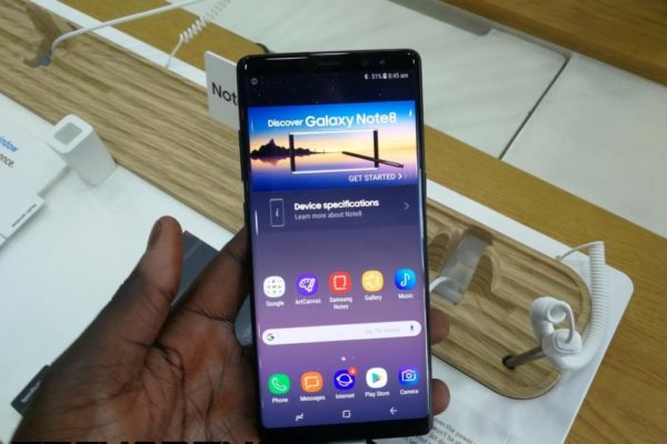 Galaxy Note 8 in Kenya
