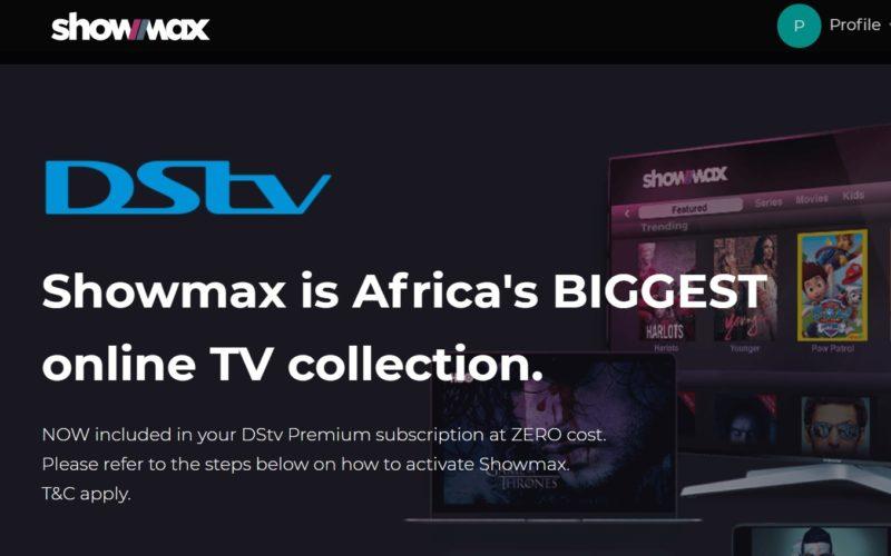 Showmax DStv premium kenya