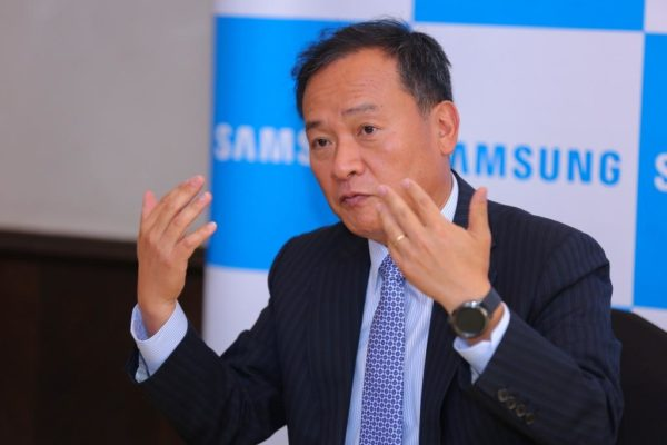 Sung Yoon, Samsung Electronics President and CEO Africa