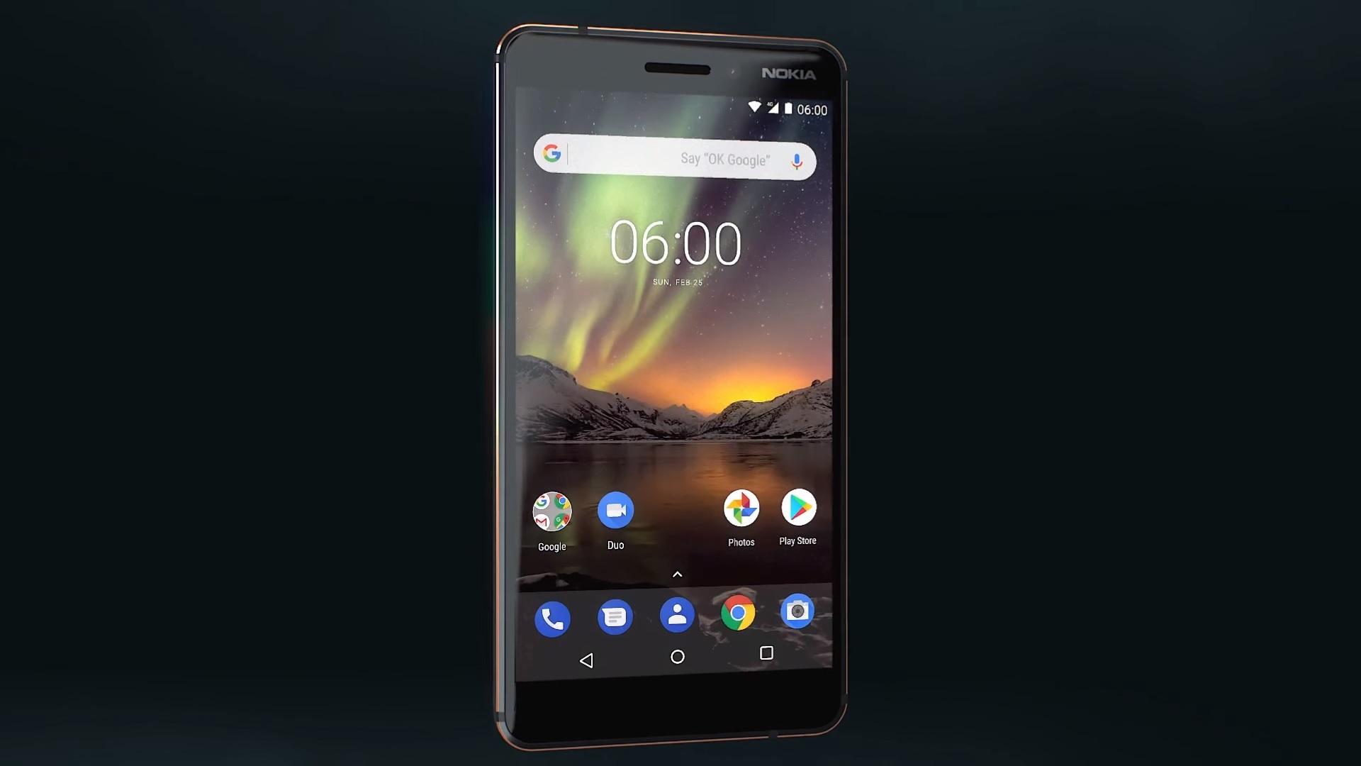 Nokia 6 mwc