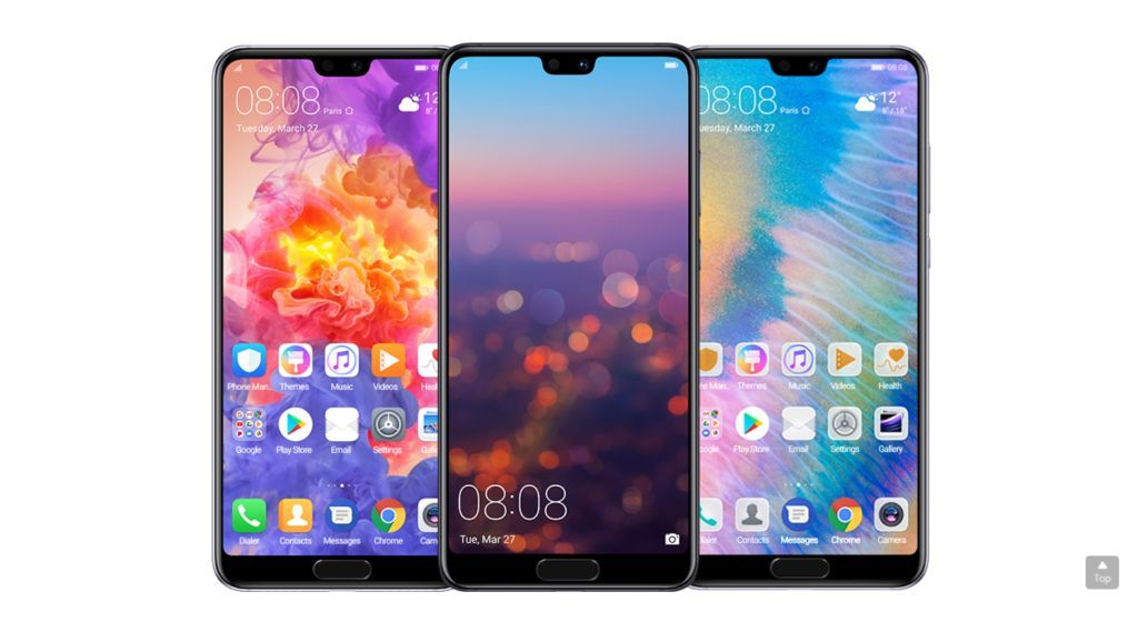 Huawei p20 and p2o pro