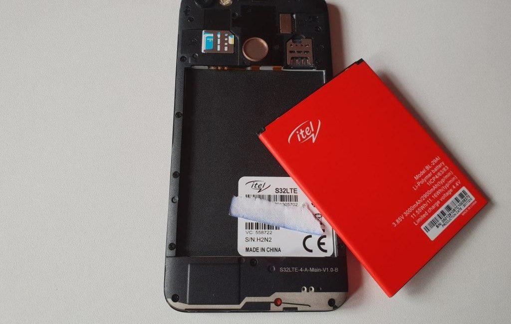 Itel S32 LTE battery
