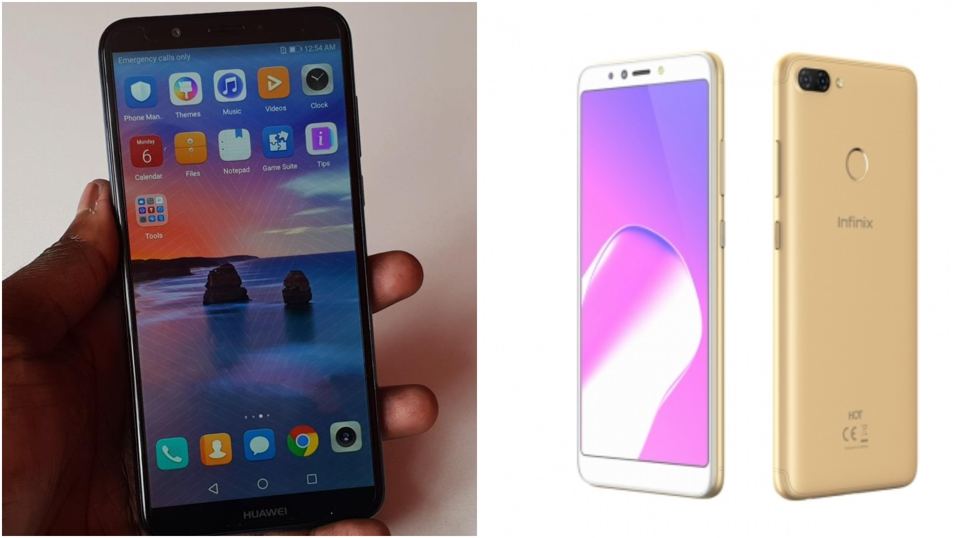 Specs Showdown: Huawei Y7 Prime 2018 Vs Infinix Hot 6 Pro