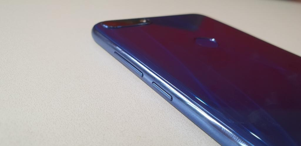 Huawei y7 prime 2018 buttons