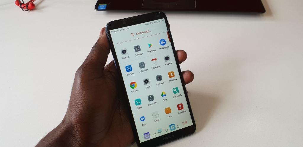 Huawei y7 prime 2018 display