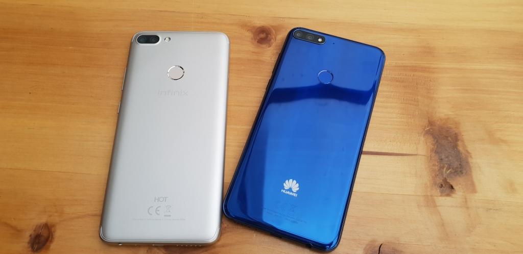 Infinix Hot 6 Pro vs Huawei Y7 Prime 2018 review