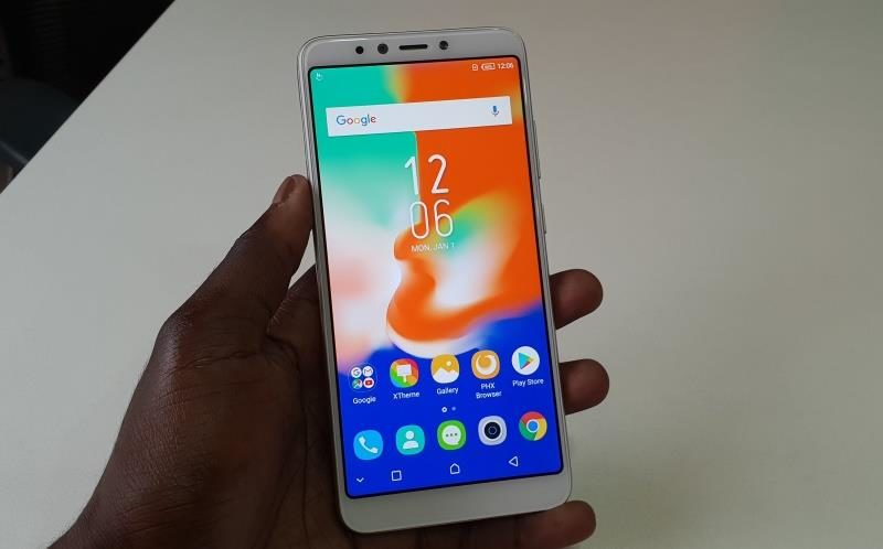 Infinix Hot 6 pro screen