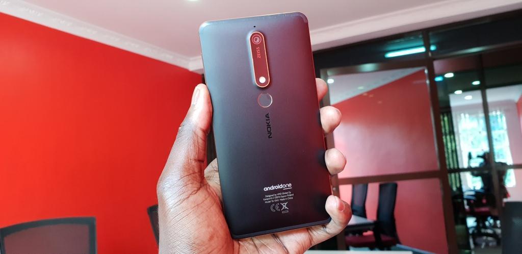 Nokia 6.1 2018 back
