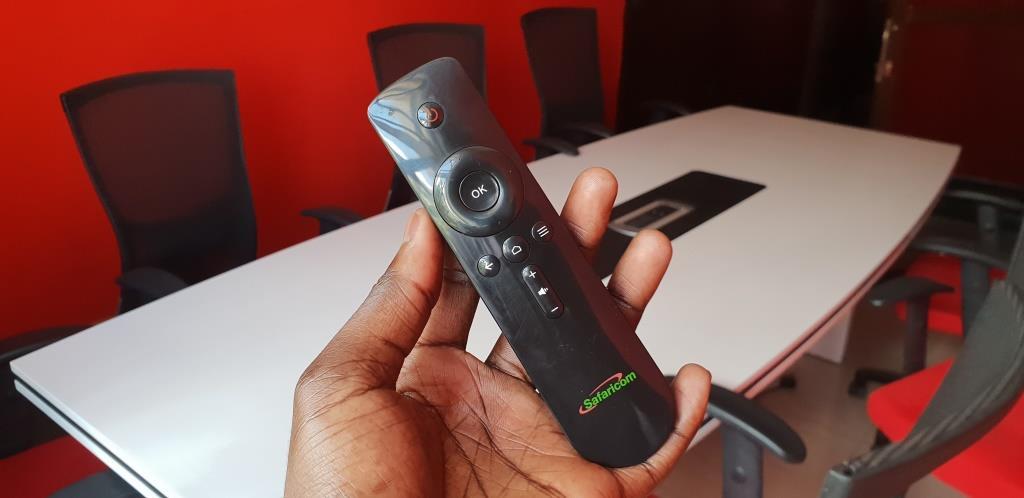 Safaricom digital tv and internet box remote