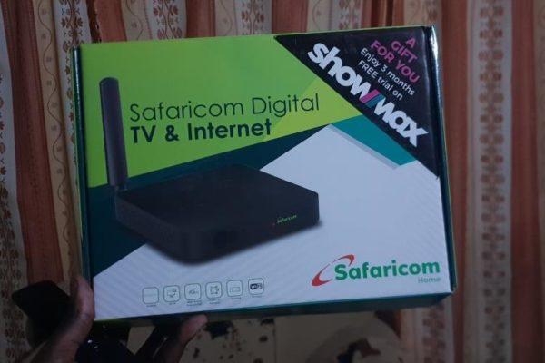 safaricom digital tv and internet box package