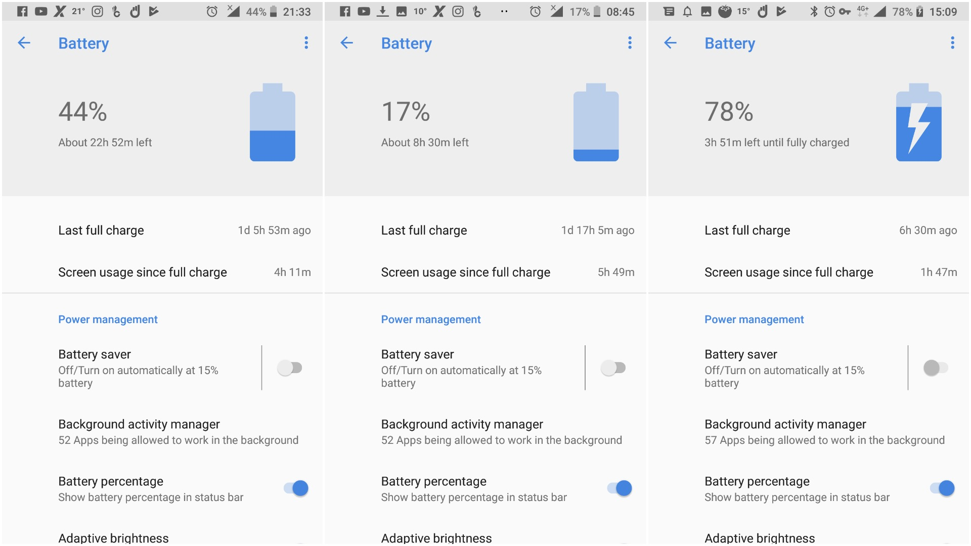 Nokia 7 plus battery