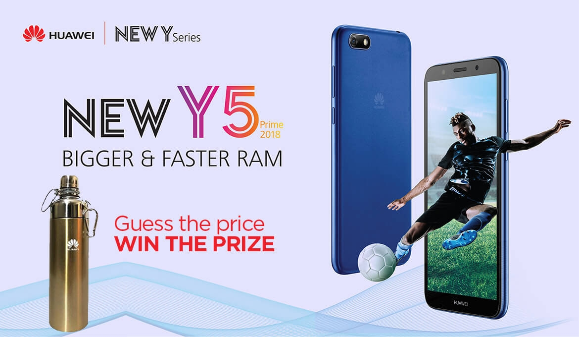 The Huawei Y5 Prime 2018 Will Be Launched in Kenya Later